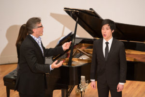 Thomas Hampson Distance Learning Masterclass at Manhattan School of Music